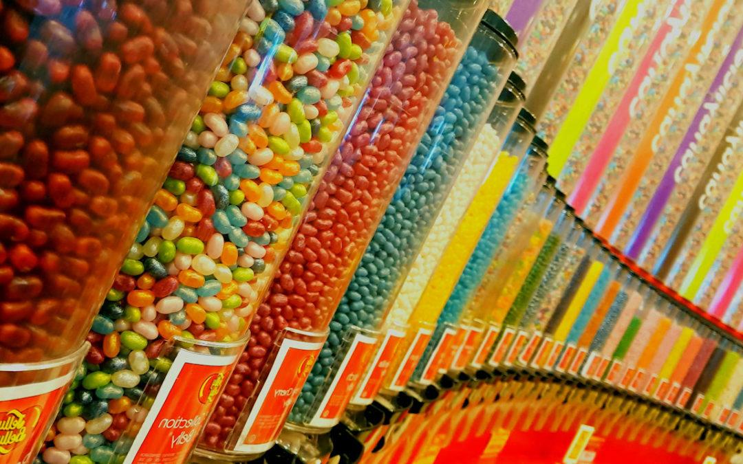 Like A Kid In A Sweet Shop