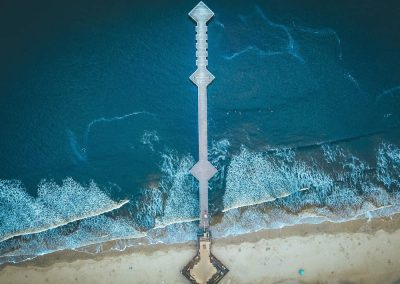 Pismo Beach Pier from above